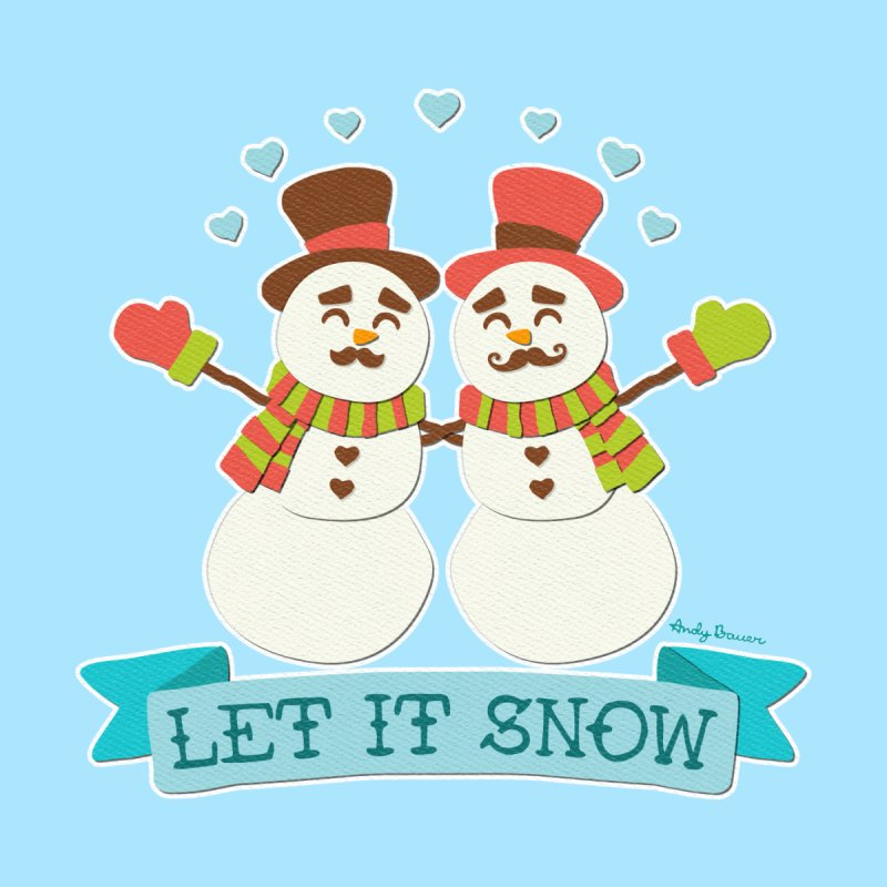 Let It Snow by Andy Bauer's Shop