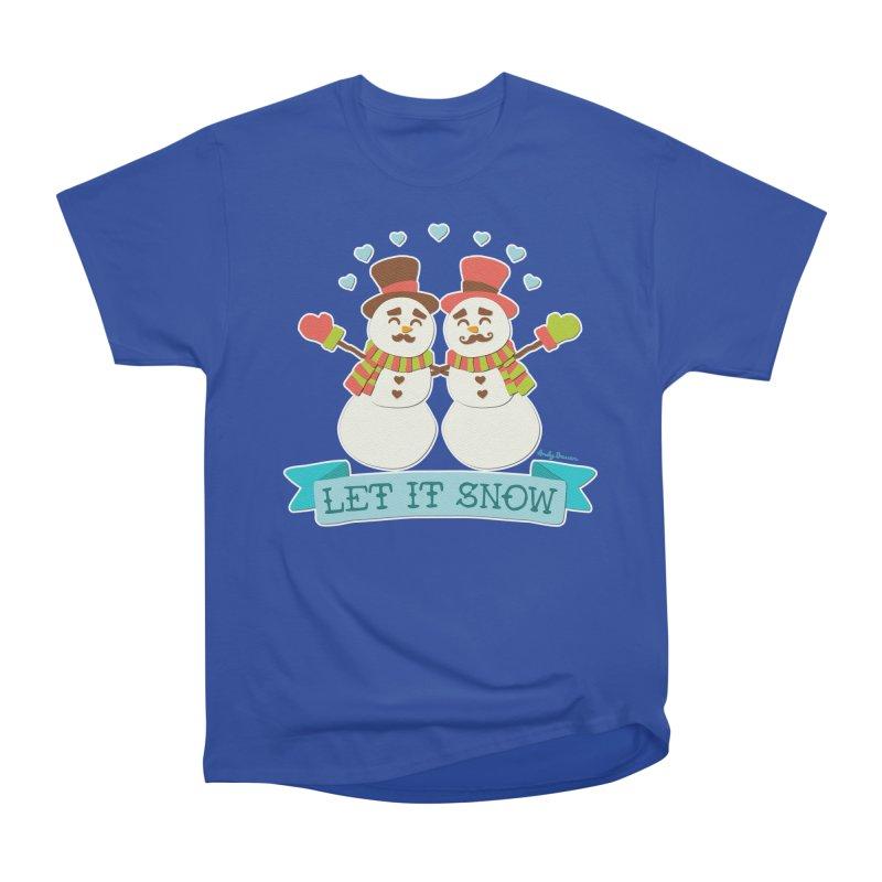 Let It Snow Women's Classic Unisex T-Shirt by Andy Bauer's Shop