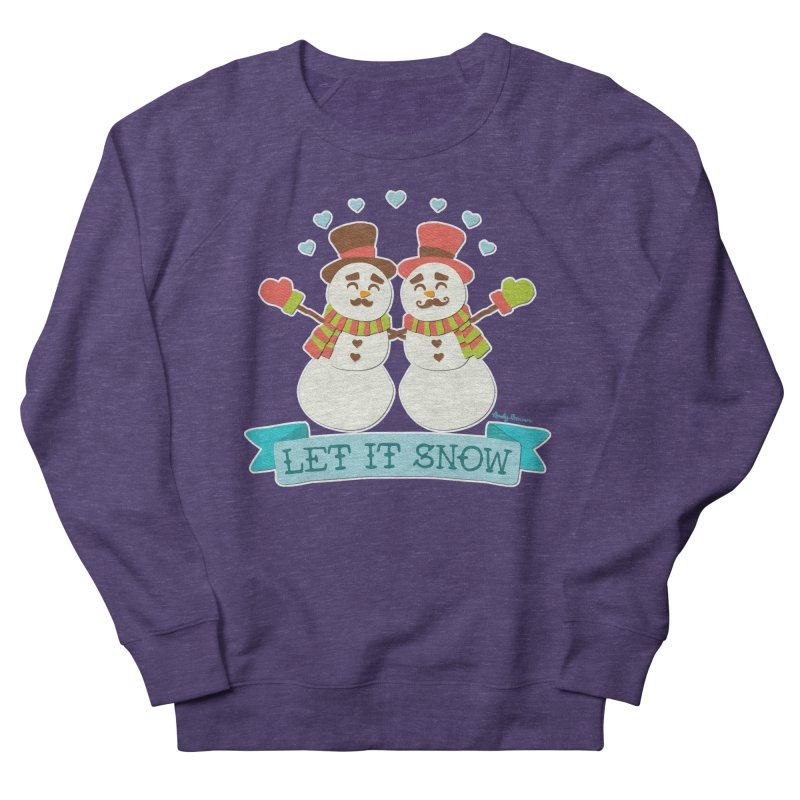 Let It Snow Women's Sweatshirt by Andy Bauer's Shop