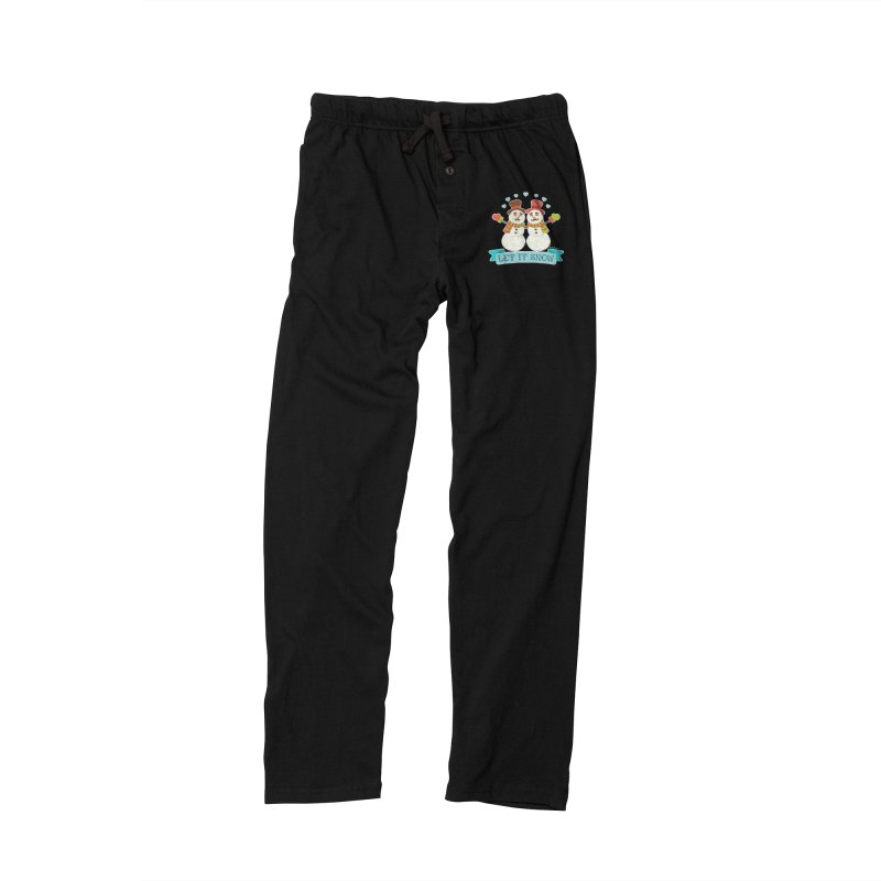 Let It Snow Men's Lounge Pants by Andy Bauer's Shop