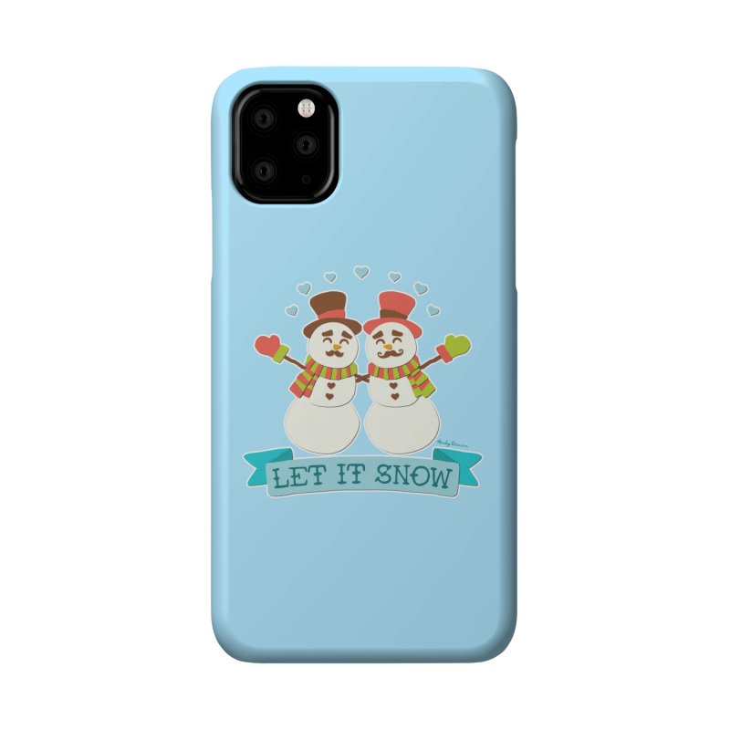 Let It Snow Accessories Phone Case by Andy Bauer's Shop