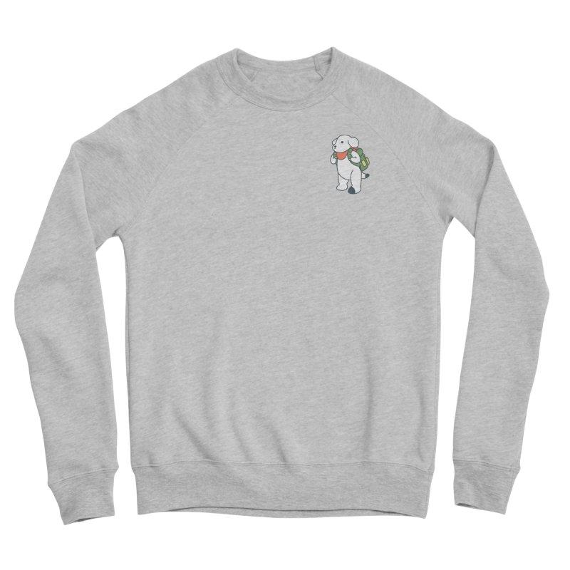 Börk Scout Men's Sponge Fleece Sweatshirt by Andrea Bell