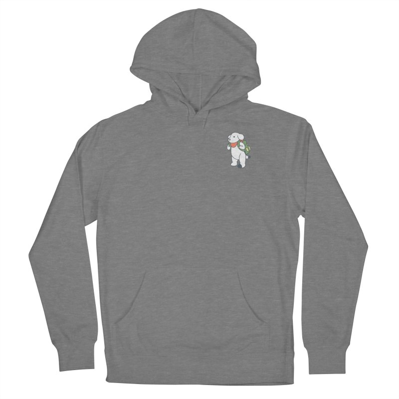 Börk Scout Men's French Terry Pullover Hoody by Andrea Bell
