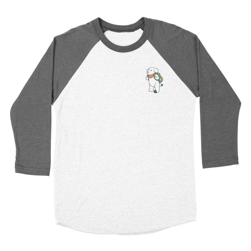 Börk Scout Men's Baseball Triblend Longsleeve T-Shirt by Andrea Bell