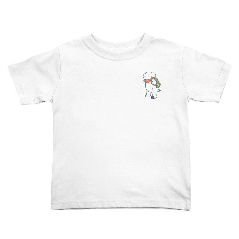 Börk Scout Kids Toddler T-Shirt by Andrea Bell