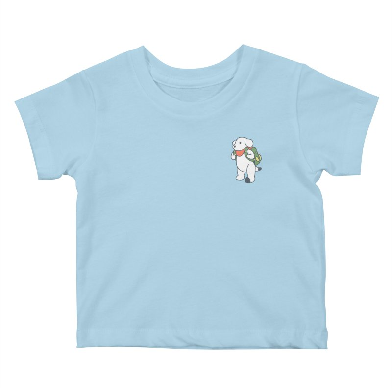 Börk Scout Kids Baby T-Shirt by Andrea Bell