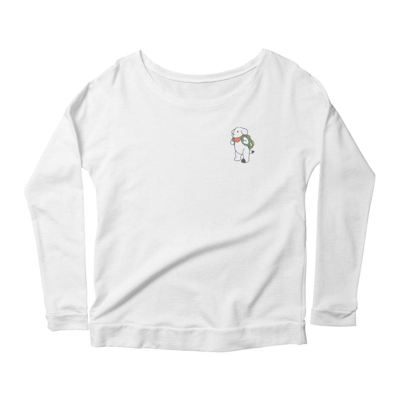 Börk Scout Women's Scoop Neck Longsleeve T-Shirt by Andrea Bell