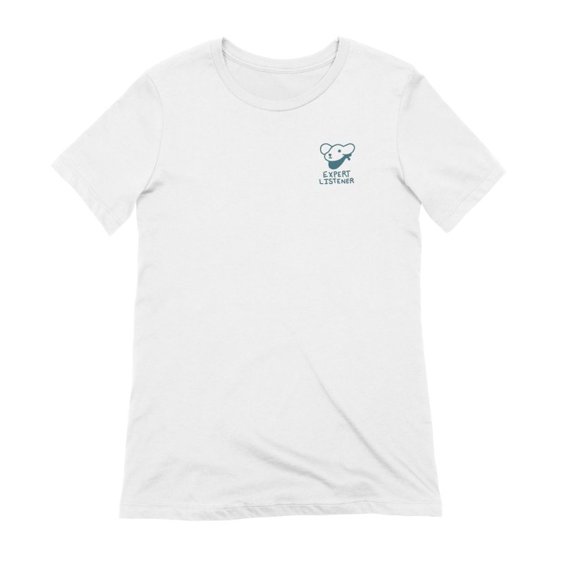 Börk is a Listener Women's Extra Soft T-Shirt by Andrea Bell