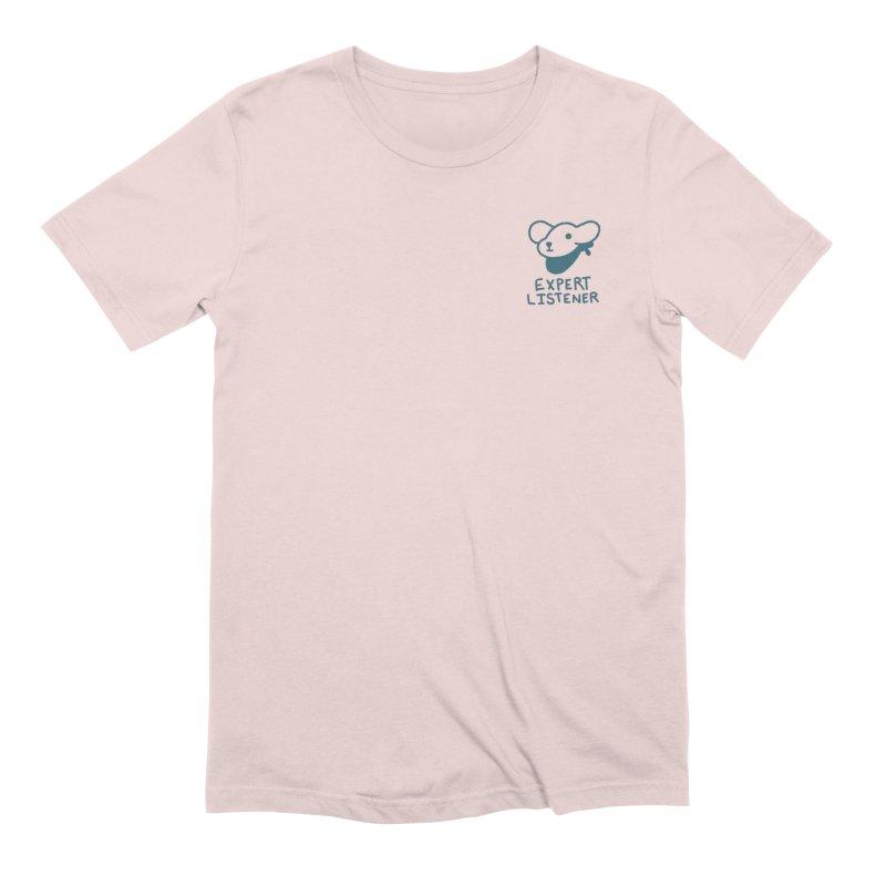 Börk is a Listener Men's Extra Soft T-Shirt by Andrea Bell