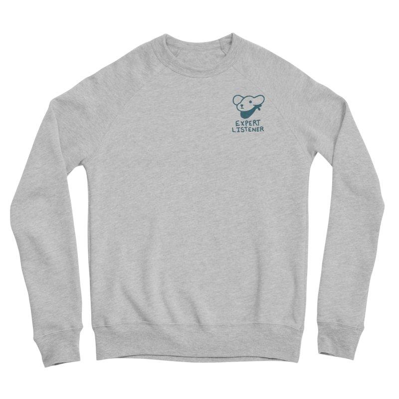 Börk is a Listener Men's Sponge Fleece Sweatshirt by Andrea Bell