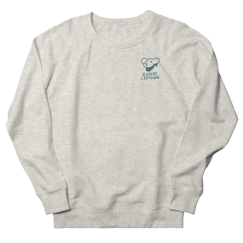 Börk is a Listener Women's French Terry Sweatshirt by Andrea Bell