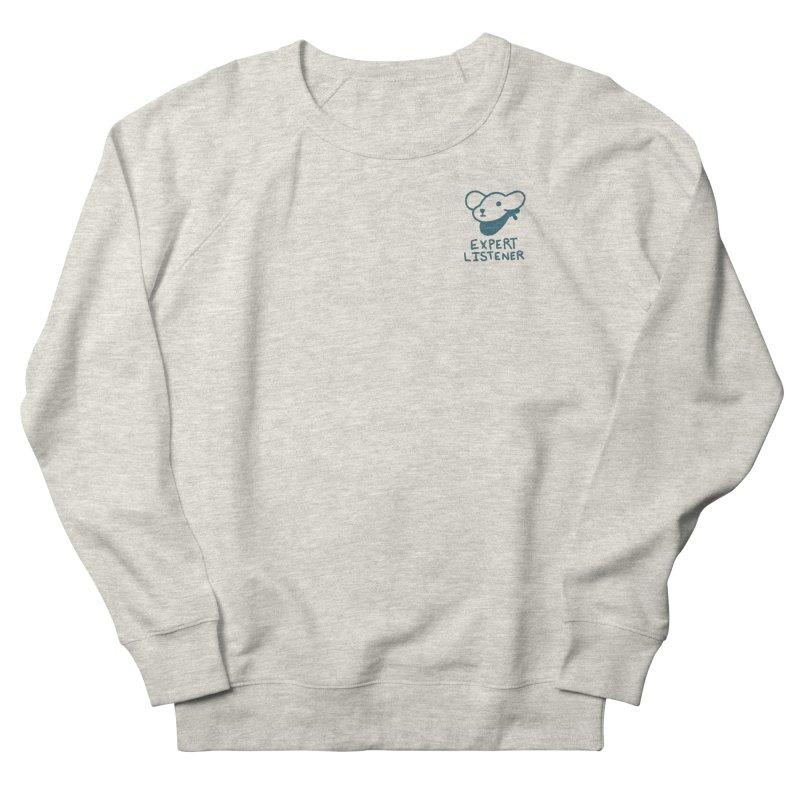 Börk is a Listener Men's French Terry Sweatshirt by Andrea Bell