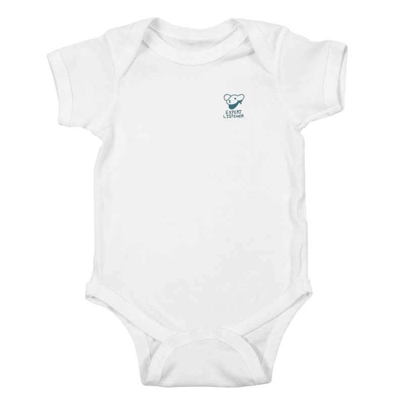Börk is a Listener Kids Baby Bodysuit by Andrea Bell