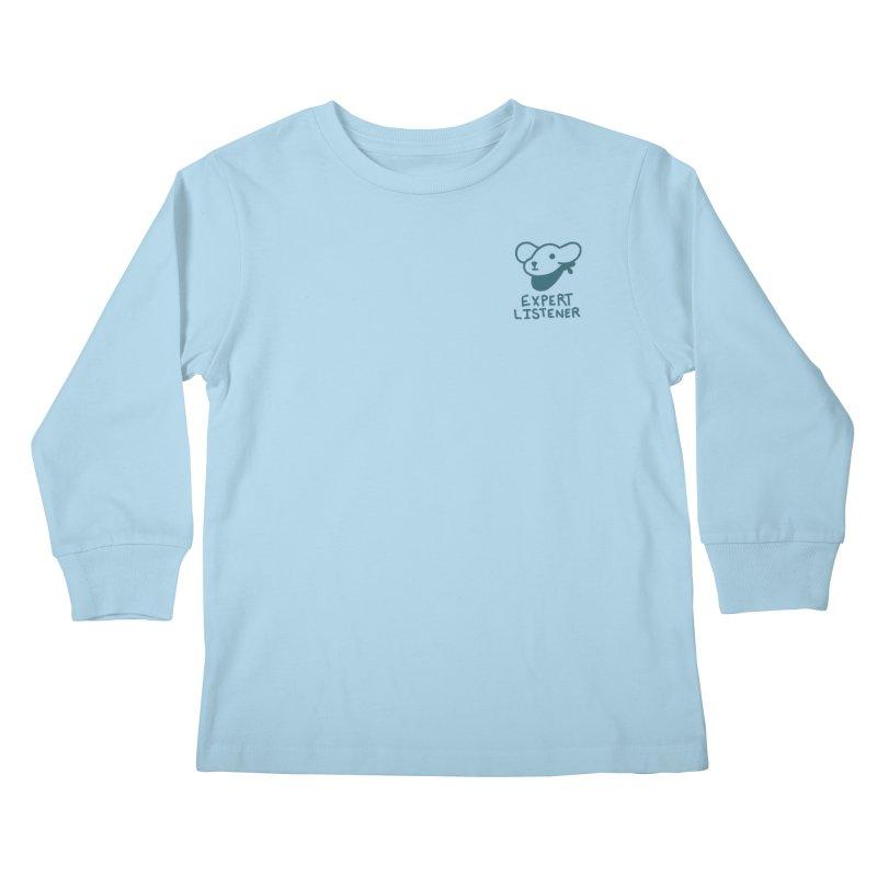 Börk is a Listener Kids Longsleeve T-Shirt by Andrea Bell