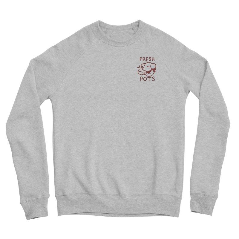 Börk likes Coffee Men's Sponge Fleece Sweatshirt by Andrea Bell