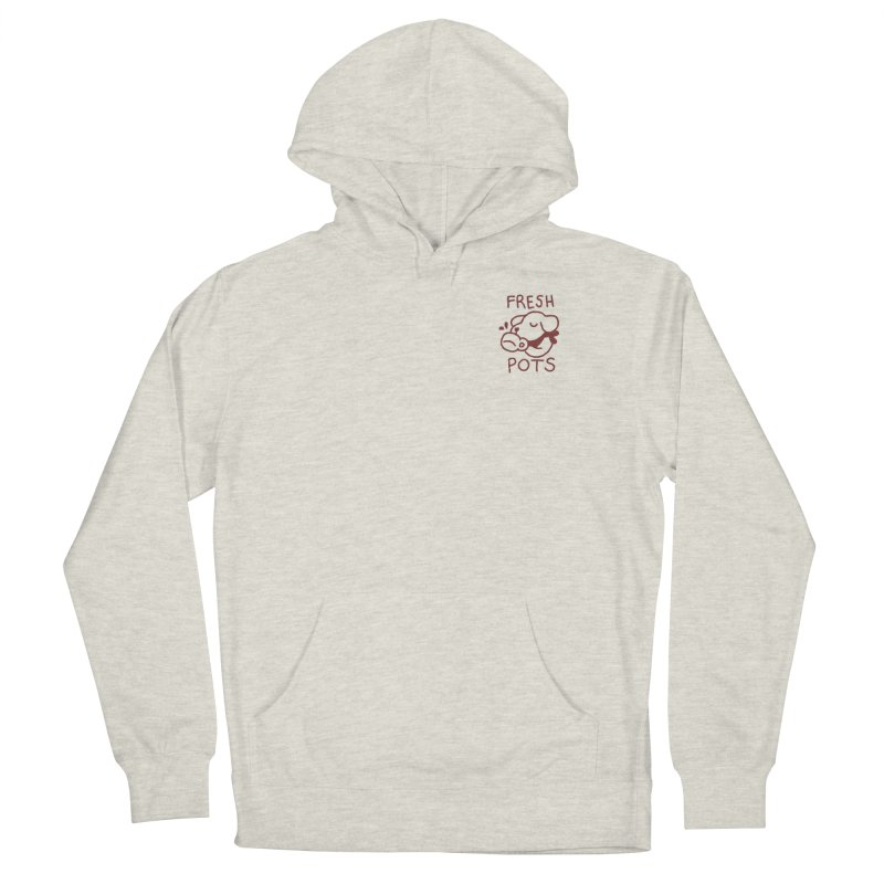 Börk likes Coffee Women's French Terry Pullover Hoody by Andrea Bell