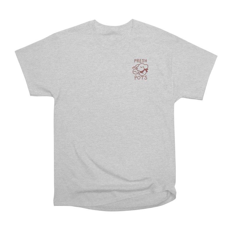 Börk likes Coffee Women's Heavyweight Unisex T-Shirt by Andrea Bell