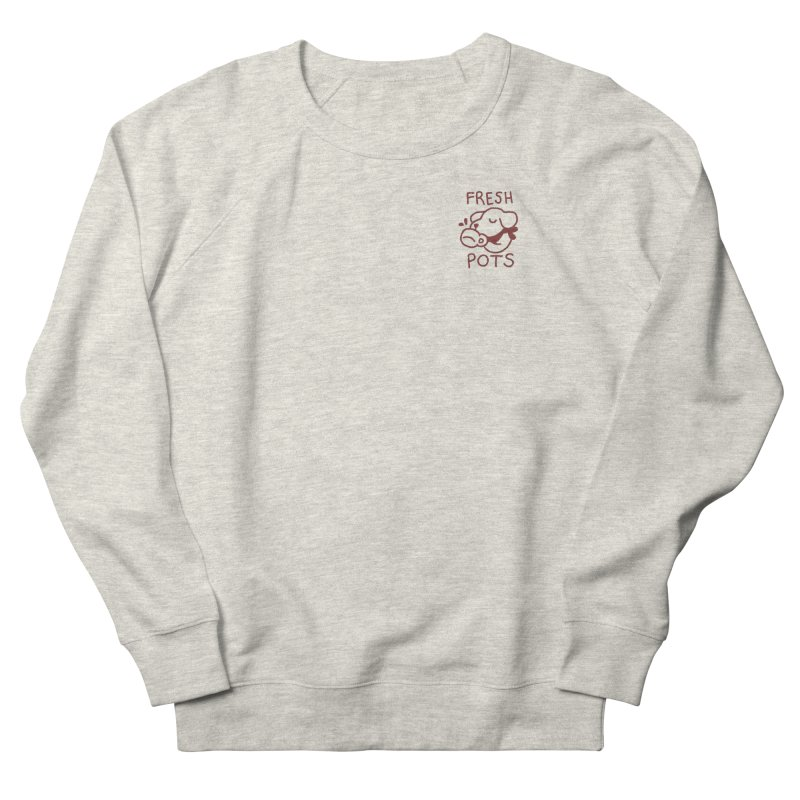 Börk likes Coffee Men's French Terry Sweatshirt by Andrea Bell