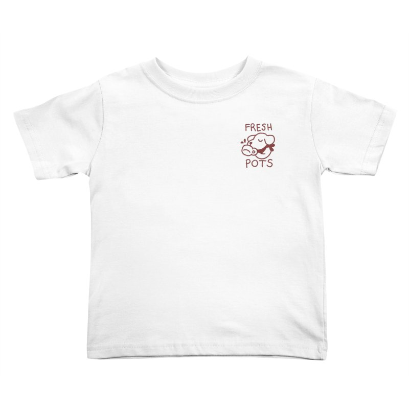 Börk likes Coffee Kids Toddler T-Shirt by Andrea Bell