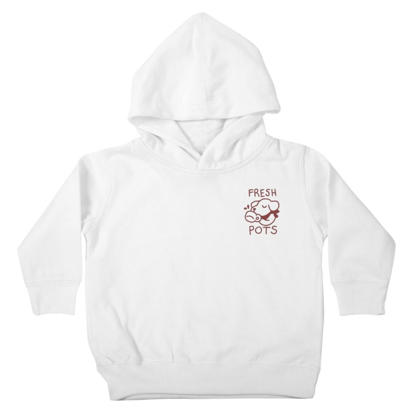Börk likes Coffee Kids Toddler Pullover Hoody by Andrea Bell