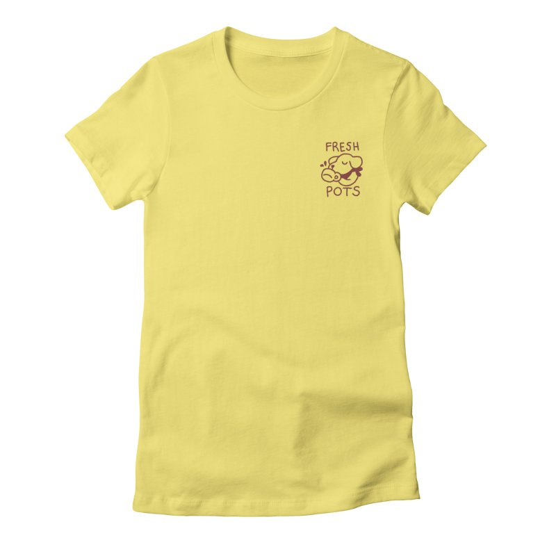 Börk likes Coffee Women's Fitted T-Shirt by Andrea Bell
