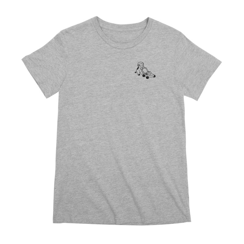 Börk can Mow Women's Premium T-Shirt by Andrea Bell