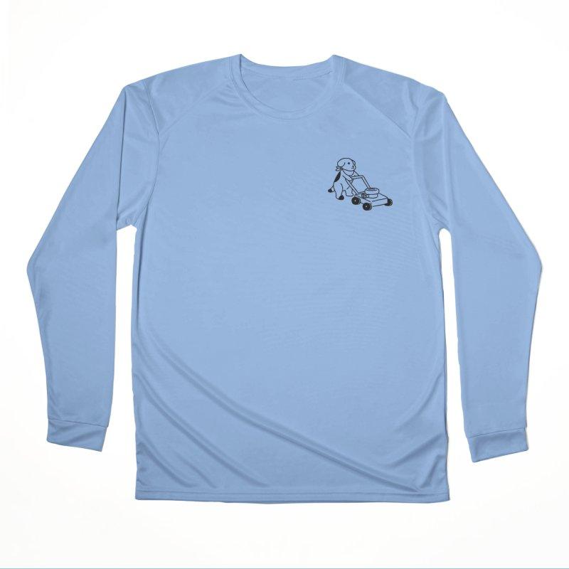 Börk can Mow Men's Performance Longsleeve T-Shirt by Andrea Bell