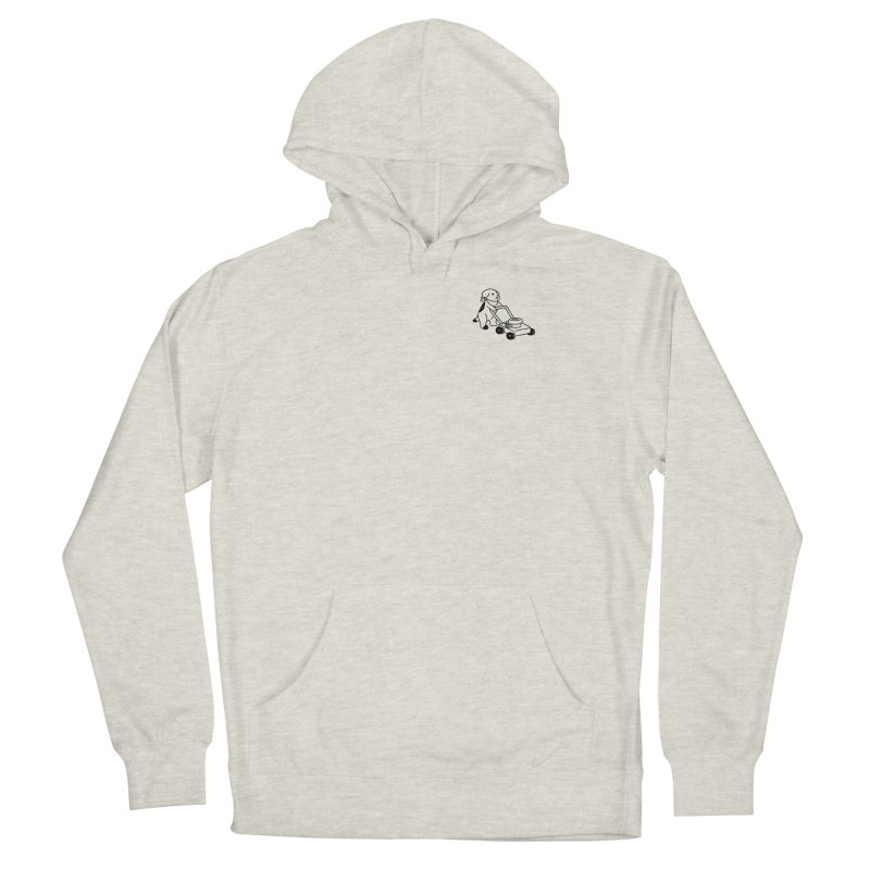 Börk can Mow Men's Pullover Hoody by Andrea Bell
