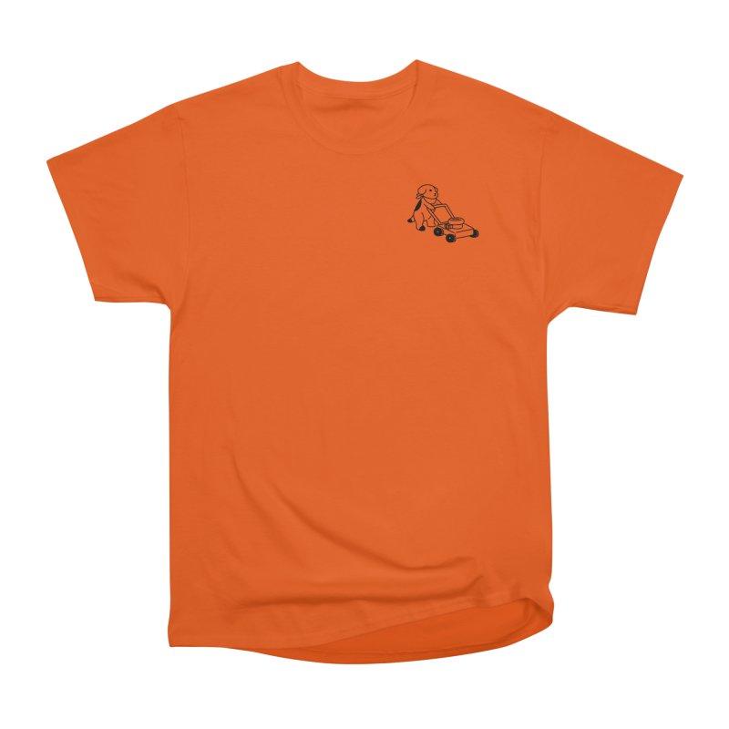 Börk can Mow Women's Heavyweight Unisex T-Shirt by Andrea Bell