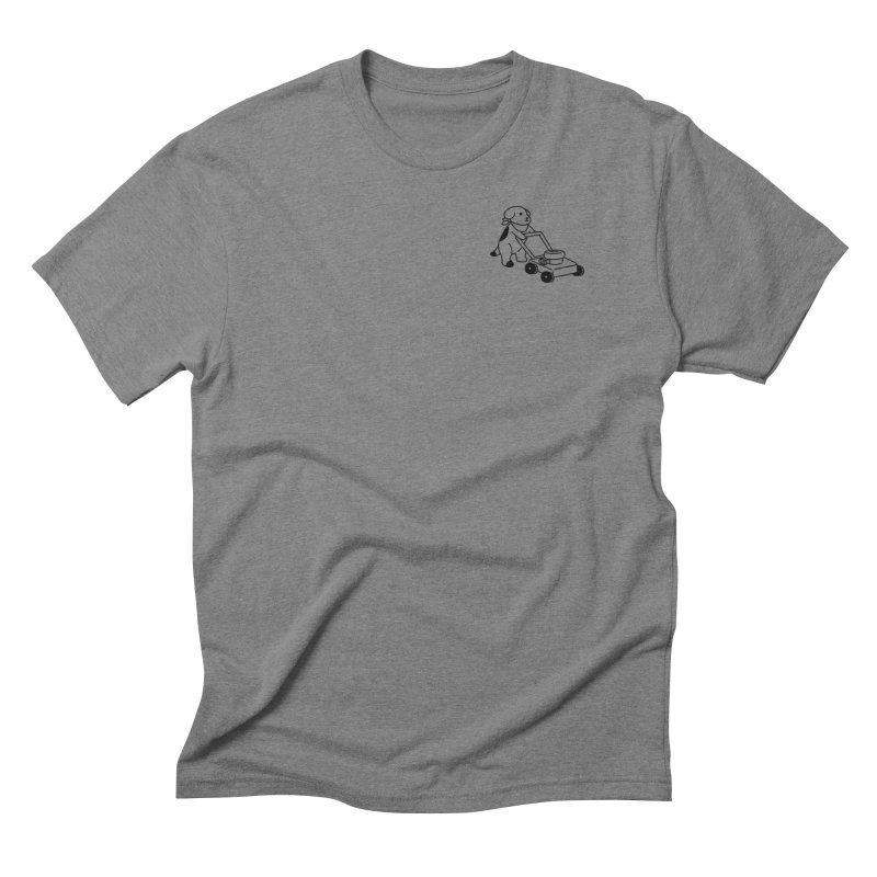 Börk can Mow Men's Triblend T-Shirt by Andrea Bell