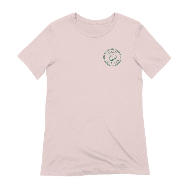Börk is a Solid Citizen Women's Extra Soft T-Shirt by Andrea Bell