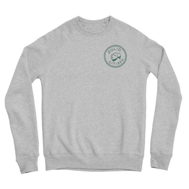 Börk is a Solid Citizen Men's Sponge Fleece Sweatshirt by Andrea Bell