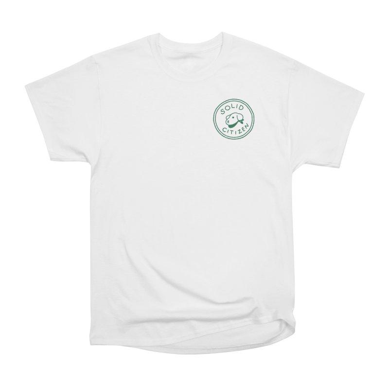 Börk is a Solid Citizen Men's Heavyweight T-Shirt by Andrea Bell