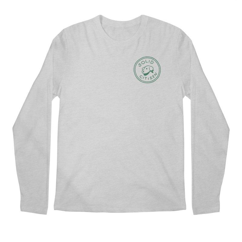 Börk is a Solid Citizen Men's Regular Longsleeve T-Shirt by Andrea Bell