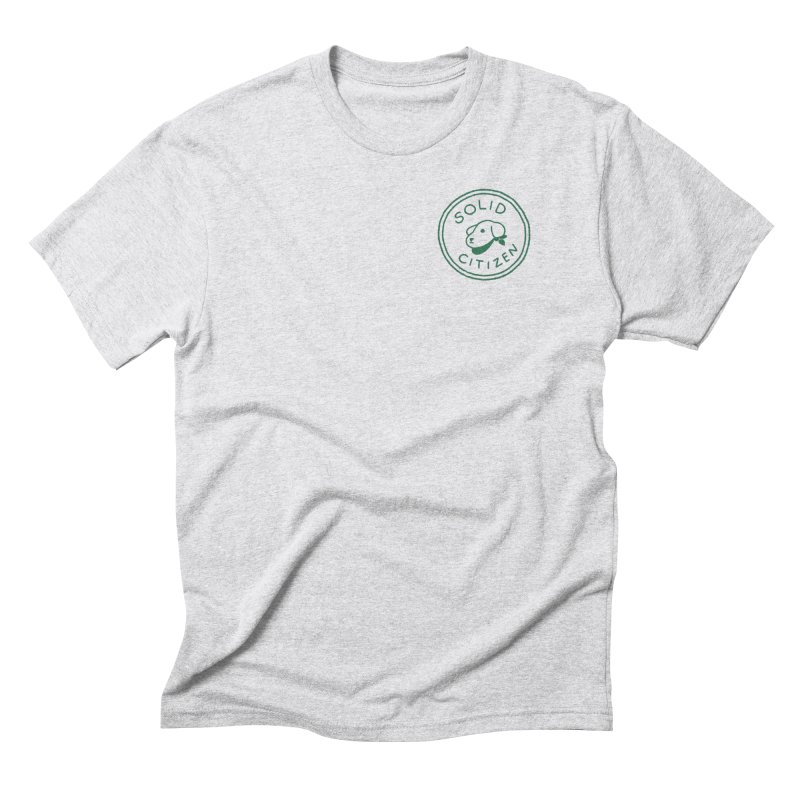 Börk is a Solid Citizen Men's Triblend T-Shirt by Andrea Bell