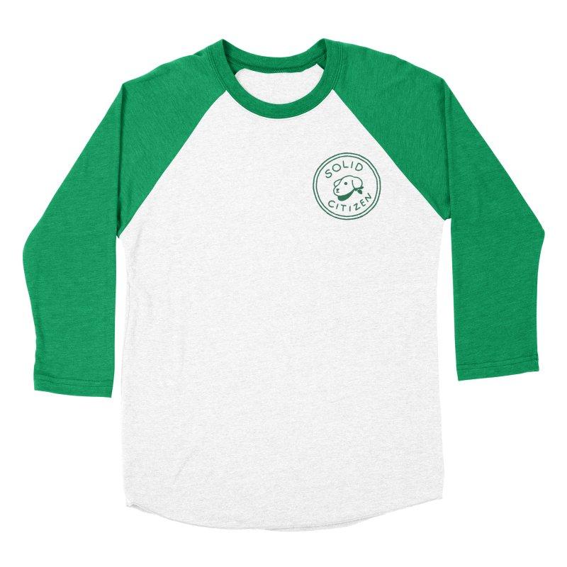 Börk is a Solid Citizen Men's Baseball Triblend Longsleeve T-Shirt by Andrea Bell
