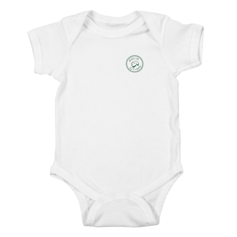 Börk is a Solid Citizen Kids Baby Bodysuit by Andrea Bell