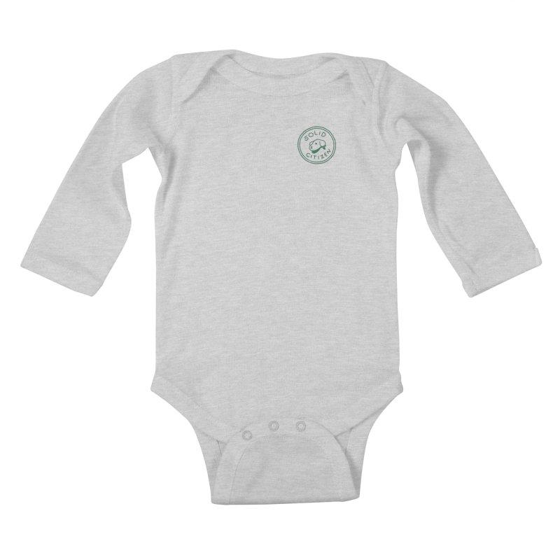 Börk is a Solid Citizen Kids Baby Longsleeve Bodysuit by Andrea Bell