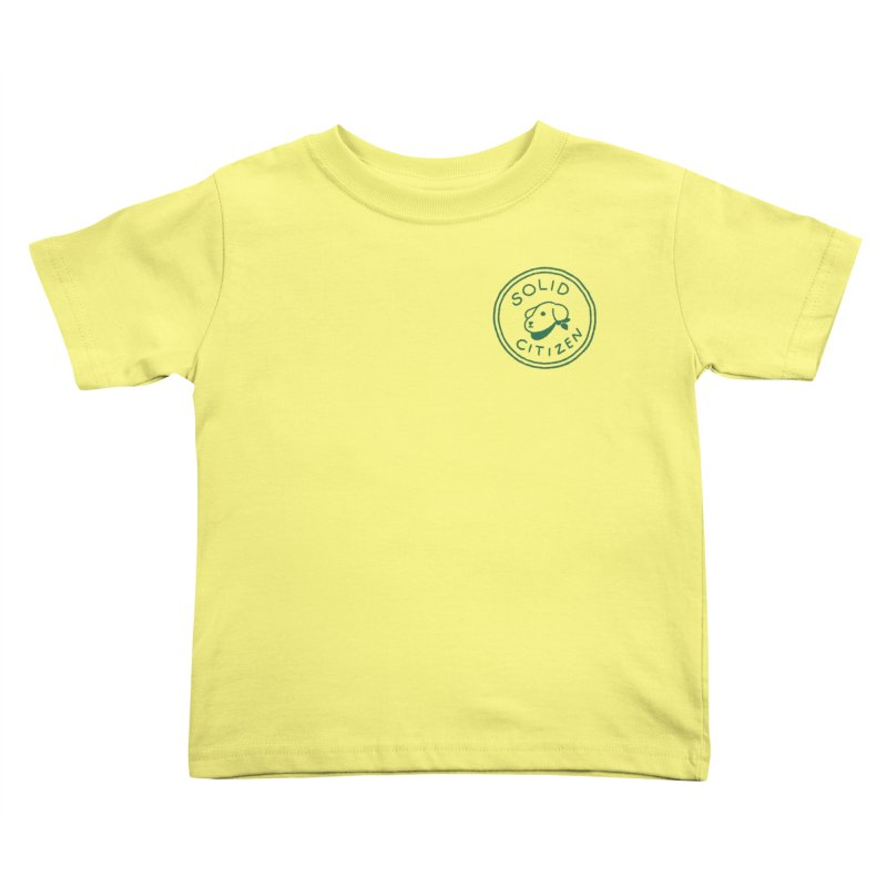 Börk is a Solid Citizen Kids Toddler T-Shirt by Andrea Bell