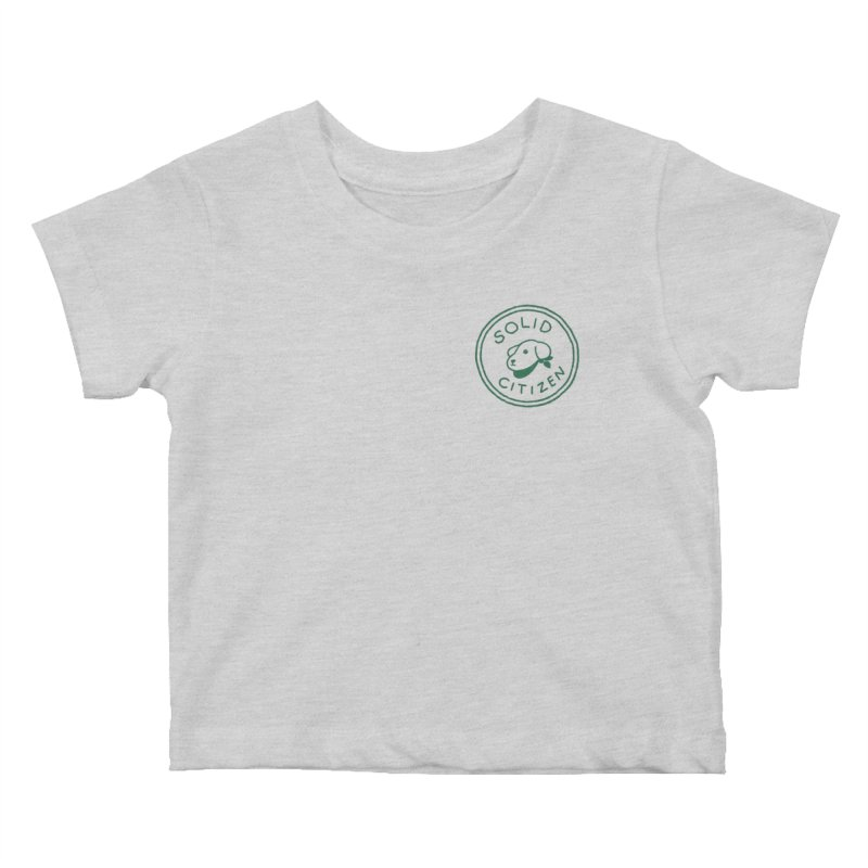 Börk is a Solid Citizen Kids Baby T-Shirt by Andrea Bell