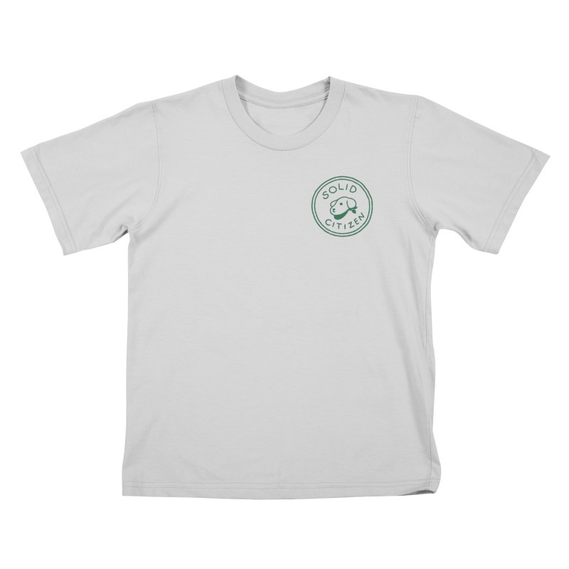 Börk is a Solid Citizen Kids T-Shirt by Andrea Bell