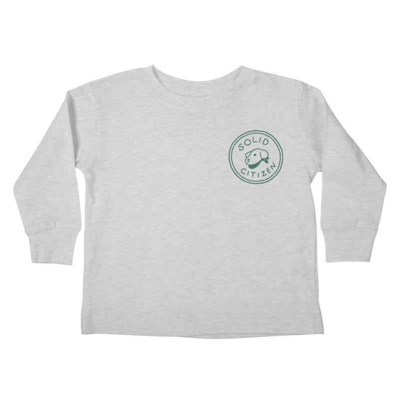 Börk is a Solid Citizen Kids Toddler Longsleeve T-Shirt by Andrea Bell