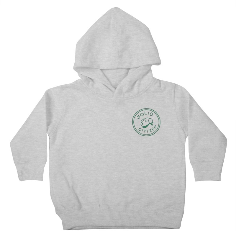 Börk is a Solid Citizen Kids Toddler Pullover Hoody by Andrea Bell
