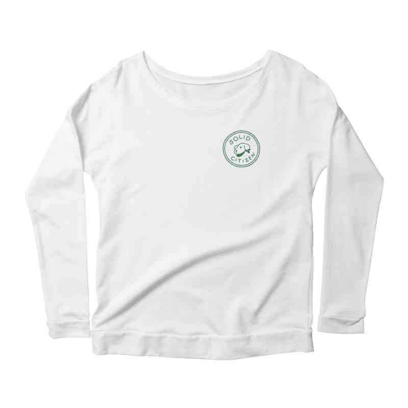 Börk is a Solid Citizen Women's Scoop Neck Longsleeve T-Shirt by Andrea Bell