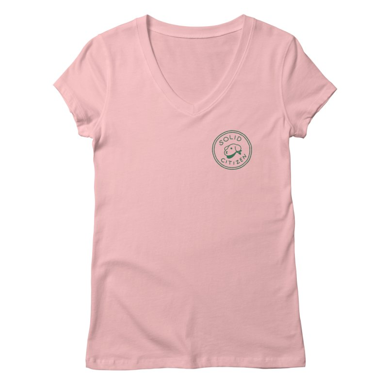 Börk is a Solid Citizen Women's Regular V-Neck by Andrea Bell