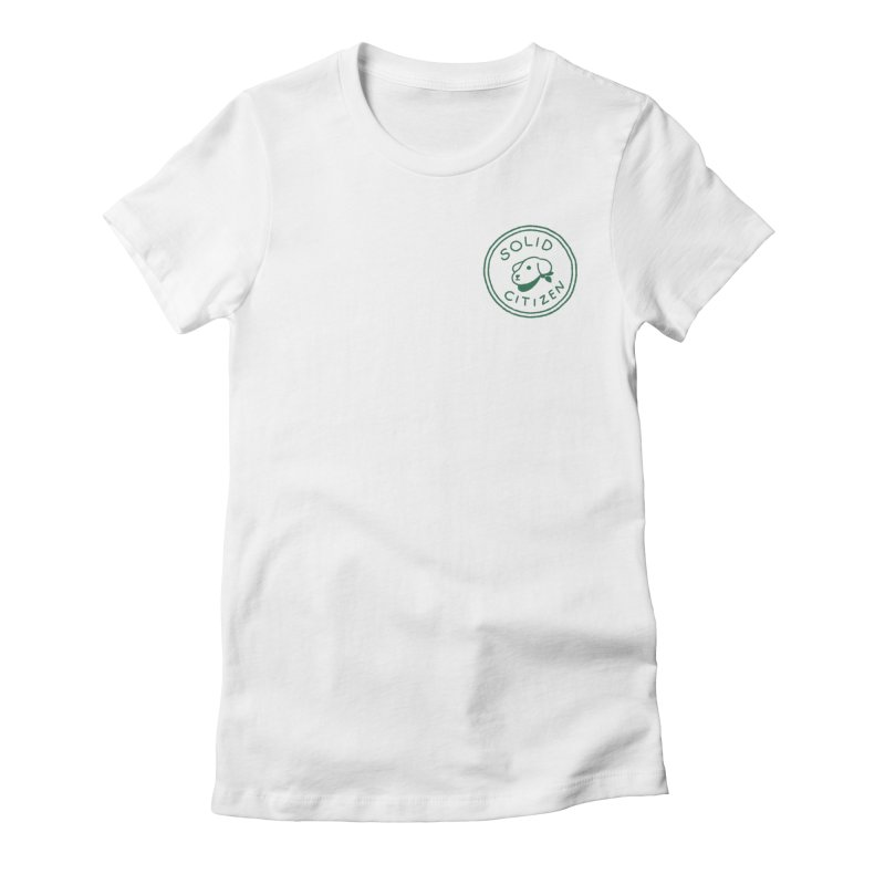 Börk is a Solid Citizen Women's Fitted T-Shirt by Andrea Bell