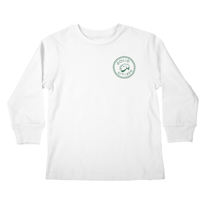 Börk is a Solid Citizen Kids Longsleeve T-Shirt by Andrea Bell