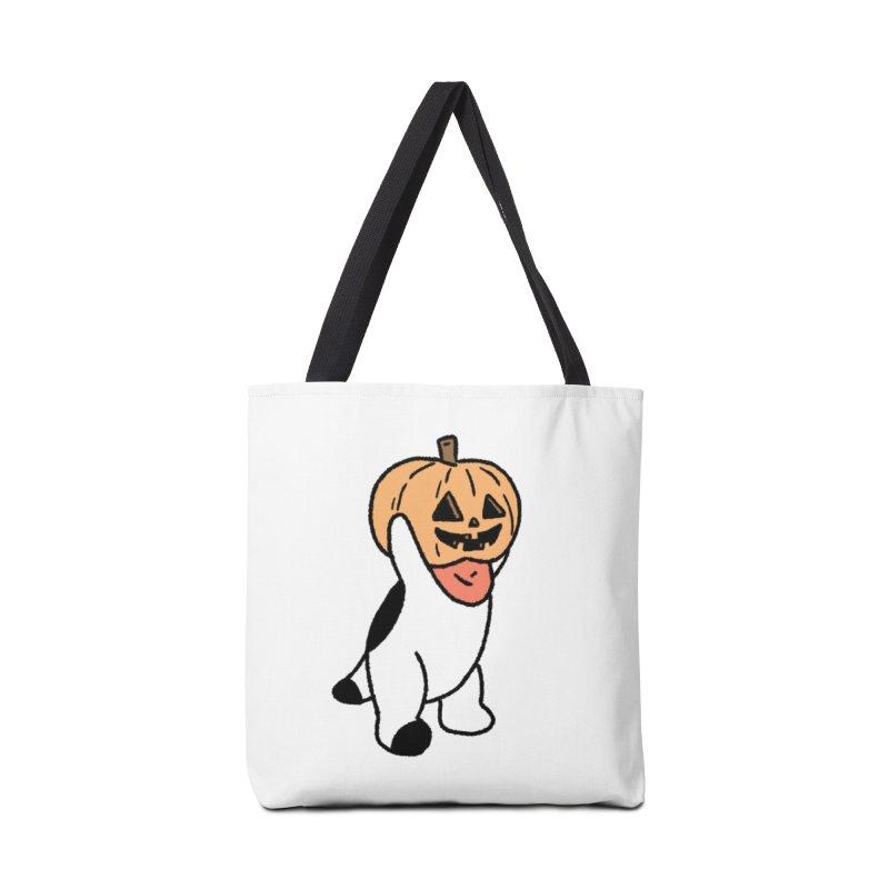 Börk is a Pumpkin Accessories Tote Bag Bag by Andrea Bell