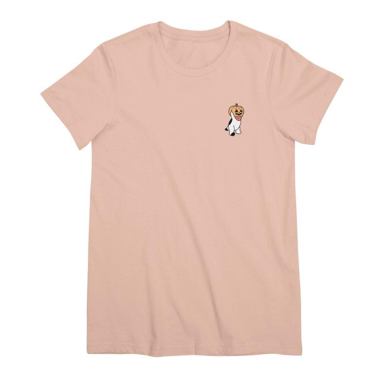 Börk is a Pumpkin Women's Premium T-Shirt by Andrea Bell