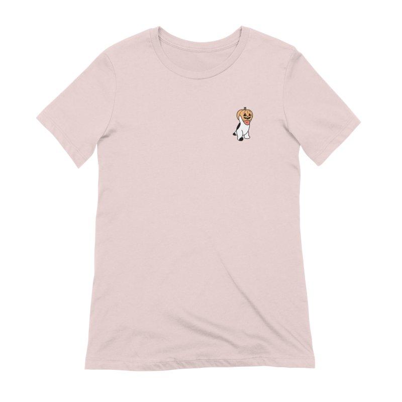 Börk is a Pumpkin Women's Extra Soft T-Shirt by Andrea Bell